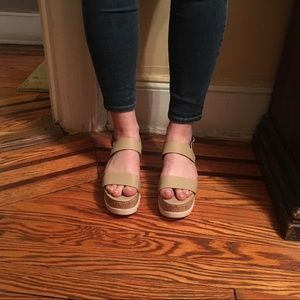 46e9f4ba50d3 Madden Girl Shoes -  Madden Girl  Nude Sugar Flatform Sandals